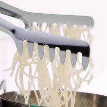 Нержавеющая сталь еда гребень клип спагетти стринги лапша острый контейнер для еды западные ресторанные принадлежности
