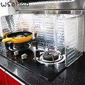 WSOMIGO креативный растительный предотвращающий разбрызгивание масла растительное масло плита изоляция для кухни доска гаджет кухонные аксессуары-B - фото