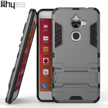 Whyes For LeEco Le 2 Case Le X527 Hard PC Hybrid Stand Full Protection Case For LeTV LeEco Le S3 X626 Case Soft Silicone Cover
