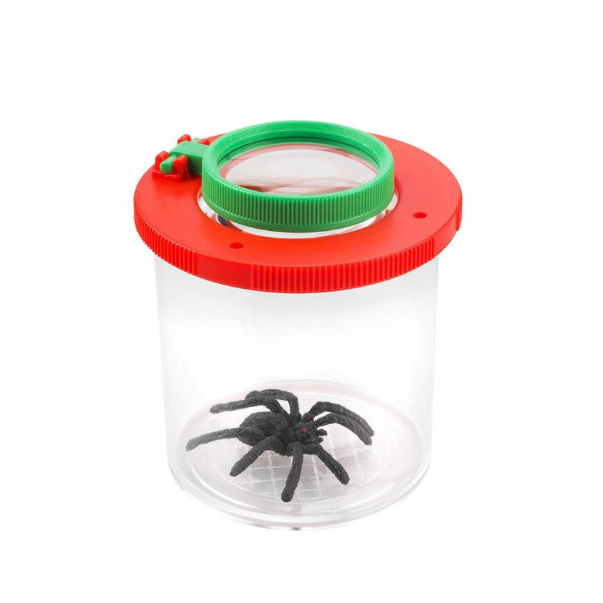 Magnifier Backyard Explorer Insect Bug Viewer Collecting Kit For Children Traps For Cockroaches Wasp Trap Catcher#EW