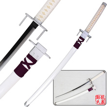 Free Shipping 41 Inch Kill La Kill Satsuki Katana (Bakuzan) Replica Steel Sword Cosplay Props White Supply
