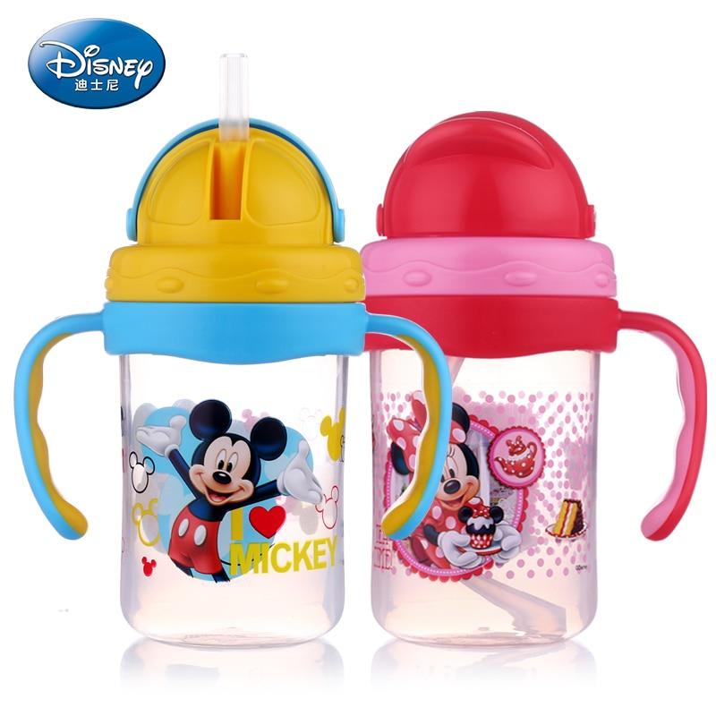 Disney SB60591 300 ml Bebé Bebé Aprender Beber Leche De Vidrio Paja ...