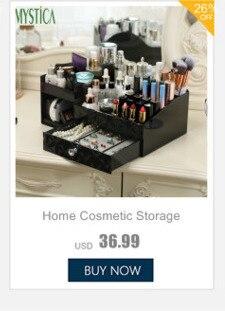 Nova caixa de armazenamento de cosméticos de