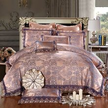 Modal  Jacquard  2016   Wedding  Bedding Sets Printing Queen King Size 4Pcs Including Duvet Cover Bed Sheet Pillowcase