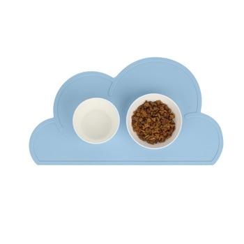 Set de table pour chien en forme de nuage
