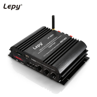 LP 269S Bluetooth Car Amplifier HiFi Digital Stereo Audio US Plug 2 channel Powerful Sound Compatible With Moto Computer speaker