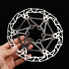 2018 7 Colors Ultra-light MTB Mountain Bike Cycling Brake Disc Float Floating Pads 160mm 6 Bolt Rotors Parts Cycling Accessories
