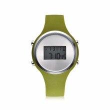 Fashion Women's Men's Watches REBIRTH Silicone Sport Watch W