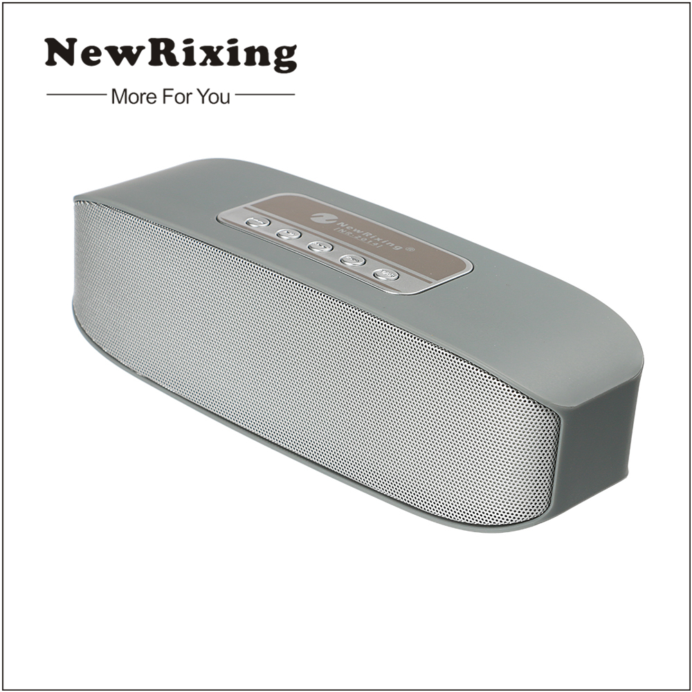 NewRixing Portable Mini Bluetooth Speaker Wireless Speakers 3D Surround Subwoofer Stereo Hifi caixa de som Altavoz Loundspeaker