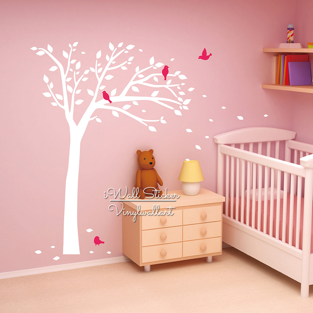 Aliexpresscom Buy Kids Room Tree Wall Sticker Baby Nursery Tree - Kids tree wall decals