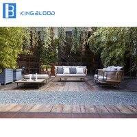 New product Outdoor furniture Aluminum Garden Rope Sofa