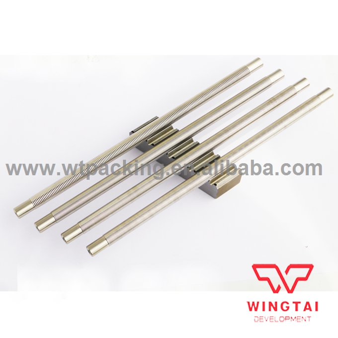 0um~150um OSP Wire bar Applicator Stainless steel Formed Wire Rod Coater stainless steel material aaron wire bar effective coating width 200mm scraping ink bar