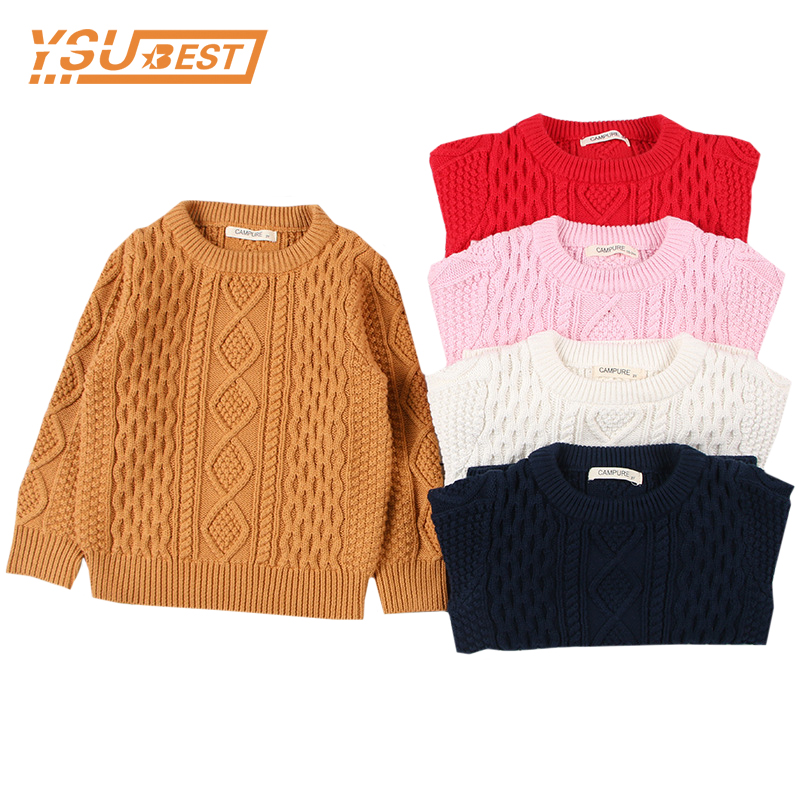 Autumn Baby Boys Girls Sweaters Kids Sweaters Winter Boys Knit Sweater Girls Ripped Sweater Toddler Girls Winter Clothes Boys 2018 autumn winter knitted sweaters pullovers warm sweater baby girls clothes children sweaters kids boys outerwear coats