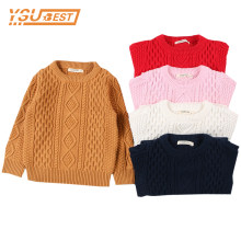 Autumn Baby Boys Girls Sweaters Kids Sweaters Winter Boys Knit Sweater Girls Ripped Sweater Toddler Girls Winter Clothes Boys(China)