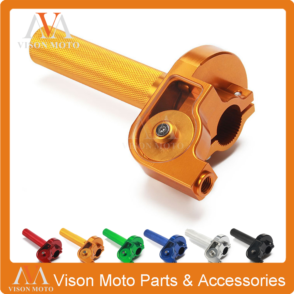 Automobiles & Motorcycles Expressive Cnc Twister Throttle Assembly For Suzuki Dg Ssr 100 110 Xr50 Crf50 All Most Model Good Quality Motocross Pit Bike Lustrous Frames & Fittings
