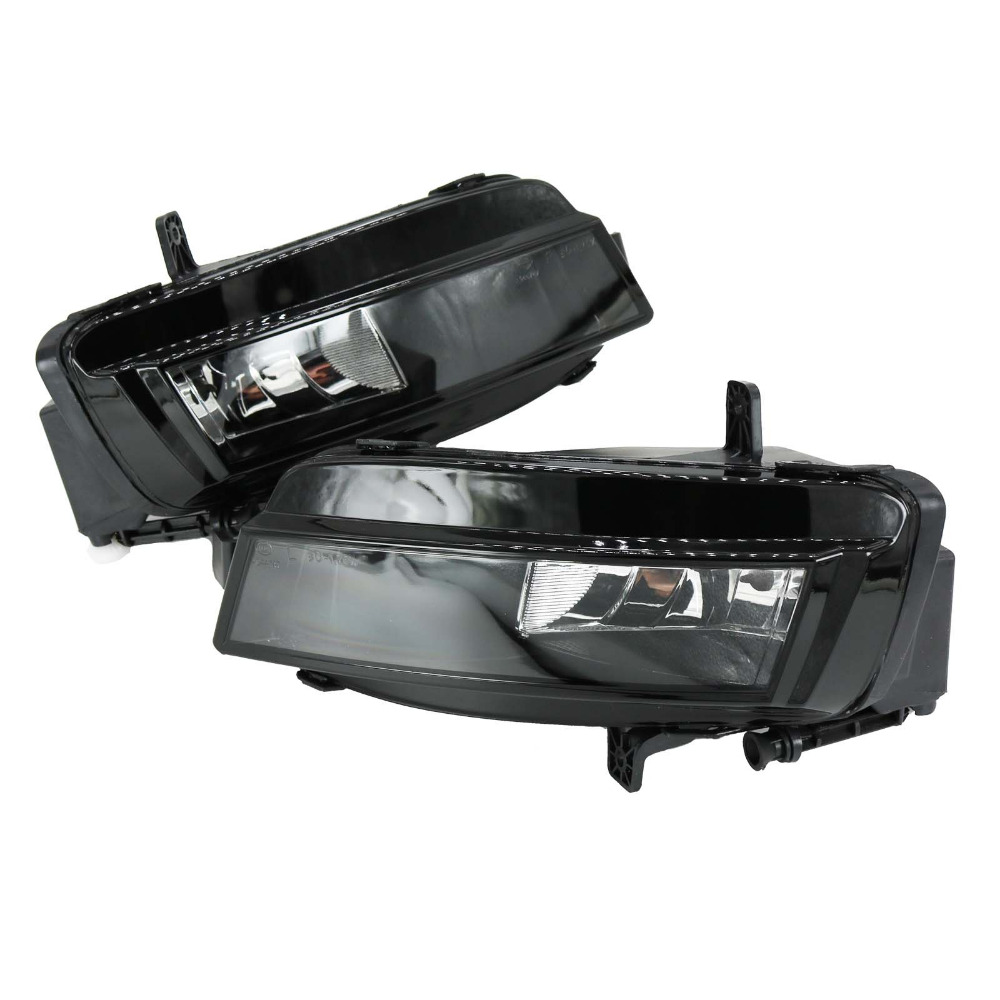 For VW Golf 7 GOLF MK7 VII TDI GTI TGI TSI 2012 2013 2014 2015 2016 2017 Car-styling Fog Light Fog Lamp With Bulbs real carbon fiber mirror cover case for vw golf 7 mk7 gti tsi vii jdm 2013 2015 [1031001]