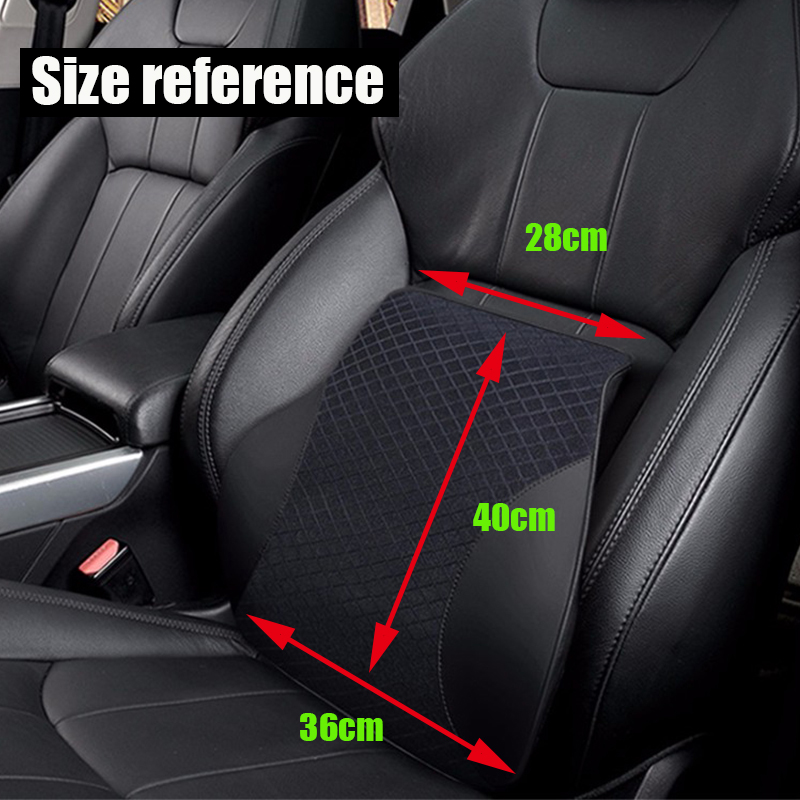 Image 4 - Car Pillows 3D Memory Foam Warm Car Neck Pillow PU Leather Car Seat Cushion Universal Lumbar Back Support Auto Accessories-in Neck Pillow from Automobiles & Motorcycles