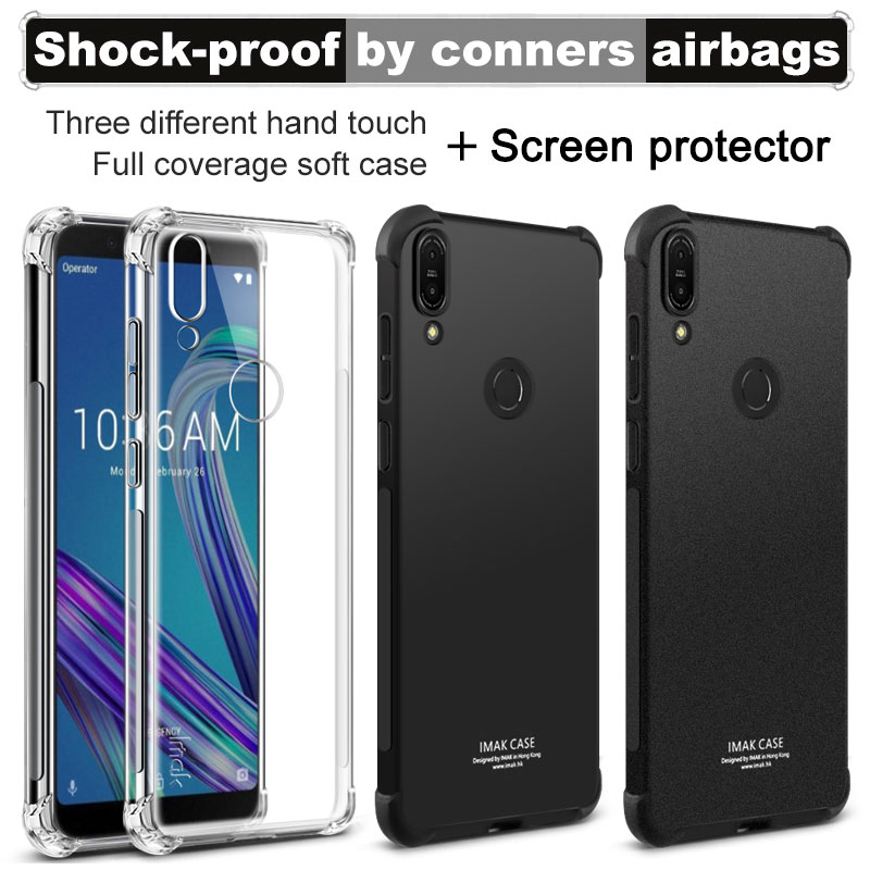 IMAK sFor Asus Zenfone Max Pro M1 ZB601KL ZB602KL Case Silicone Soft TPU Case Back Cover Case For Zenfone Max Pro M1 X00TD