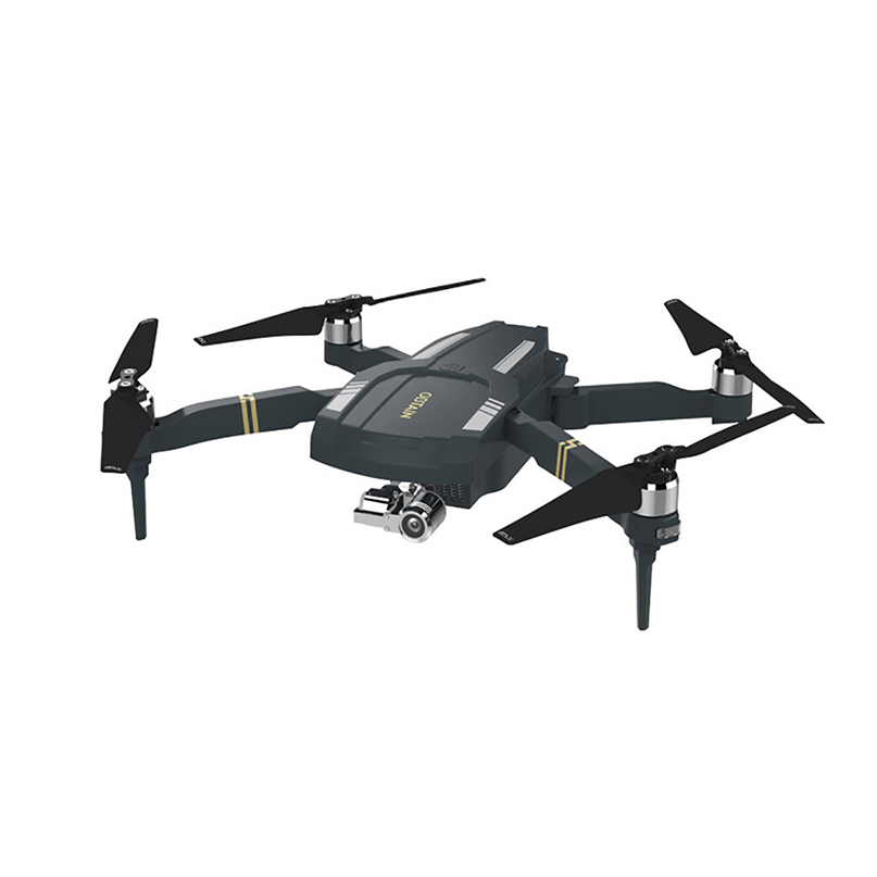 FPV Drone Camera Quadcopter Professional Obtain 3-Axis-Gimbal Folding RTF With 1080P