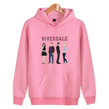 New Hot Riverdale Hoodies men/women High Quality Harajuku Men's Hoodie and Sweatshirt Riverdale Fashion Clothe high quality and hot sale100