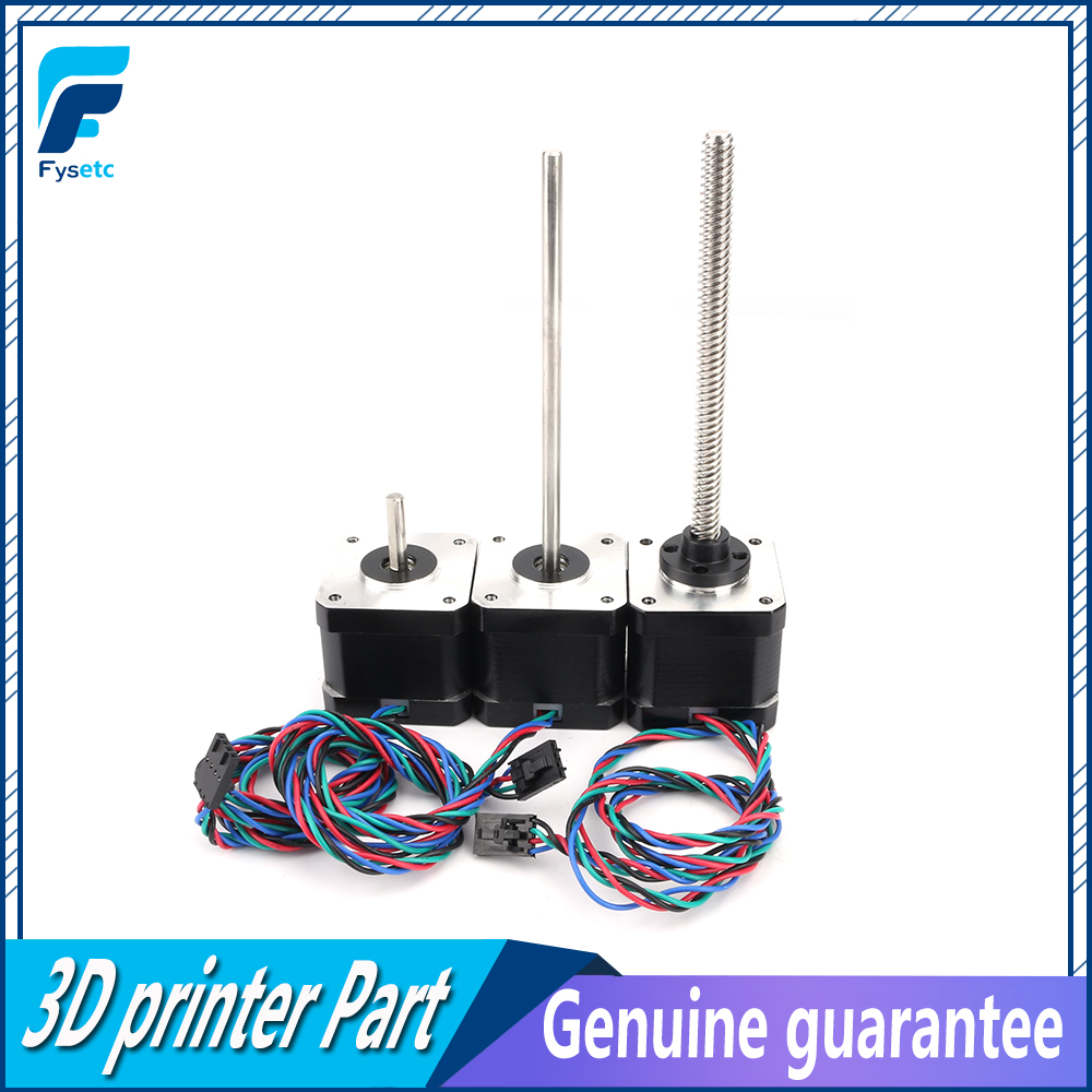 1 Set Prusa i3 MK3 Multi Materials 2.0 MMU2.0 3D Printer Motors Kit NEMA 17 Lead Screw Rod Motor Kit With Cable-in 3D Printer Parts & Accessories from Computer & Office    1