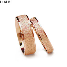Wide 4 mm ,Wide 6mm Matte titanium finger ring men and women in wedding jewelry lovers price for 1 piece
