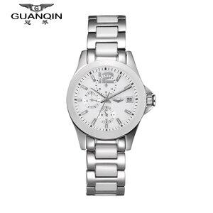 Image 4 - GUANQIN ผู้หญิงนาฬิกา Hardlex นาฬิกาแบรนด์หรูนาฬิกาเซรามิคผู้หญิงนาฬิกากันน้ำชุดนาฬิกาผู้หญิง 2019