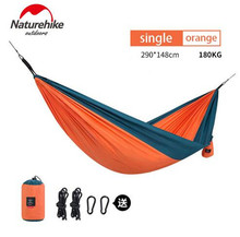 Naturehike Outdoor Single Double Hammocks Thicken Camping Hanging Sleeping Bed Hiking Swing Portable Ultralight Travel Picnic