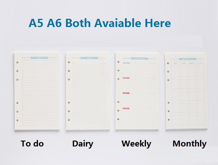 Popular Planner PrintBuy Cheap Planner Print lots from China – Loose Leaf Paper Print