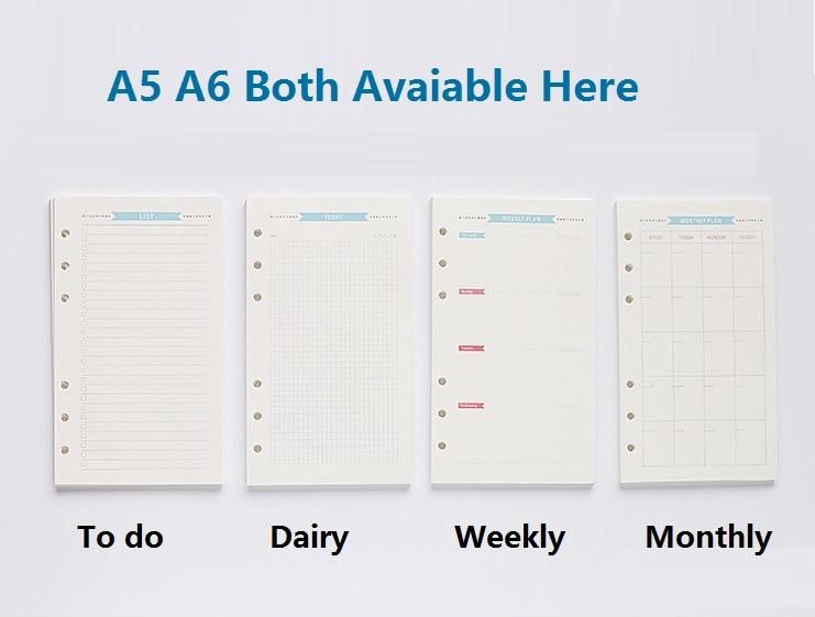 A5 Filofax Refills Promotion-Shop for Promotional A5 Filofax ...