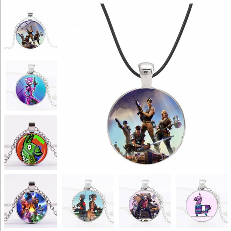 Hot Sale Game Battle Royale Pendant Necklace Llama Fashion Jewelry For Kids Party Gift Necklace Women Men Cosplay Accessories(China)