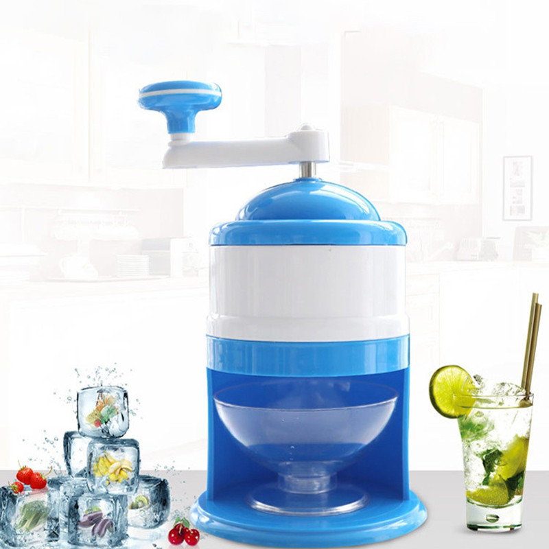 Manual Ice Crusher Hand-shake Ice Machine Small Household Manual Grinding Ice Machine Mini Ice Sharpener