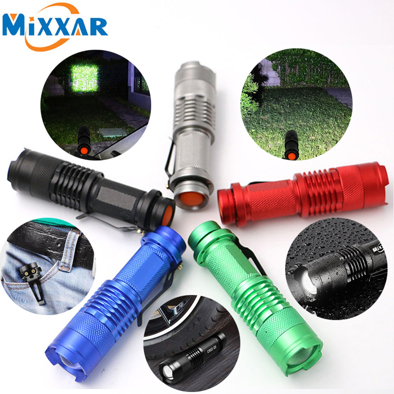 C1 3000LM Powerful Waterproof LED Tactical Flashlights Portable Camping Hunting LED Torch Lamp Lanterns Lights Self Defense