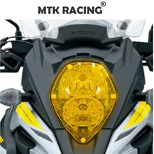 Motorcycle headlight protection cover screen front protector FOR Suzuki V-strom 650 1000 2017-2018 2019 16