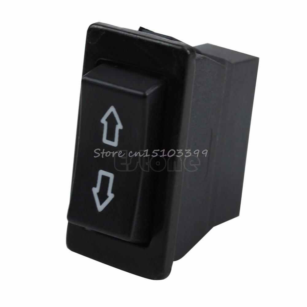 1x Universal Car Power Window Switch Lamp 6 Pin Glass Lifter ON//OFF SPST Rocker