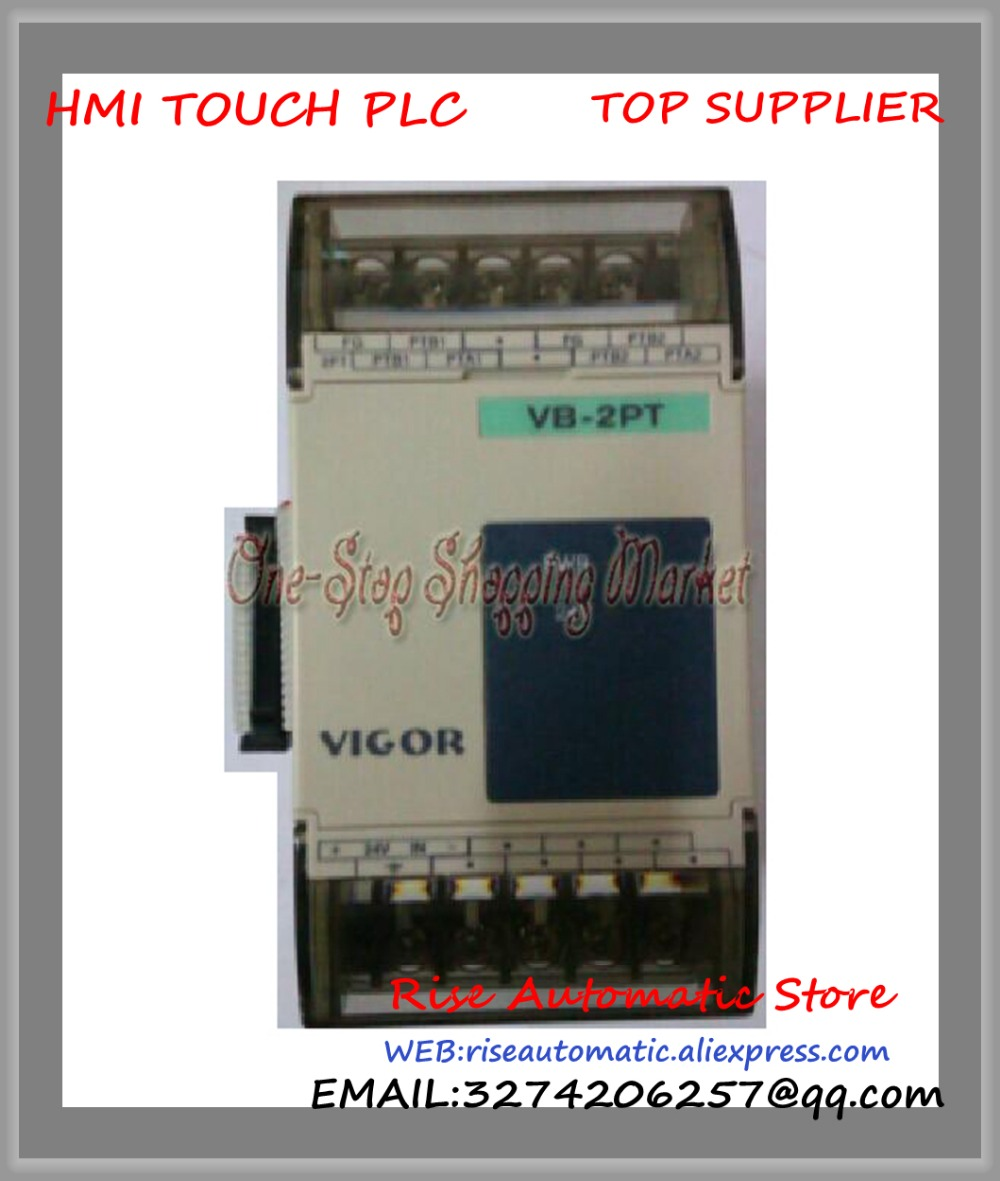 New Original Programmable Logic Controller VB-2PT 2 channel VB-4PT PLC 4 channel PT-100 Temperature Input Module special Module new original programmable logic controller module 1794 tb3g plc cage clamp terminal base