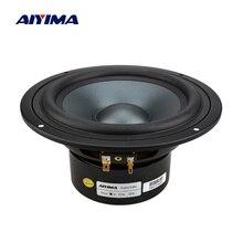 AIYIMA 1Pc 6.5 Inch Mid Woofer Speaker Fever Bass Loudspeaker Bookshelf Floor Sound Music DIY Speakers Column For Home Theater