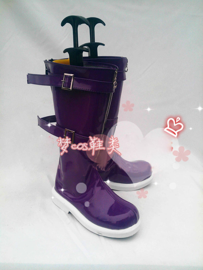 Anime LOL Annie Boots Cosplay costume shoes Custom Made Halloween Free Shipping