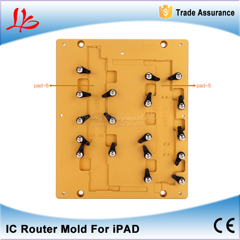 IC CNC Router Metal Engraving Polishing Milling Mould for iPad 5/6 Motherboard repair eur free tax cnc 6040z frame of engraving and milling machine for diy cnc router