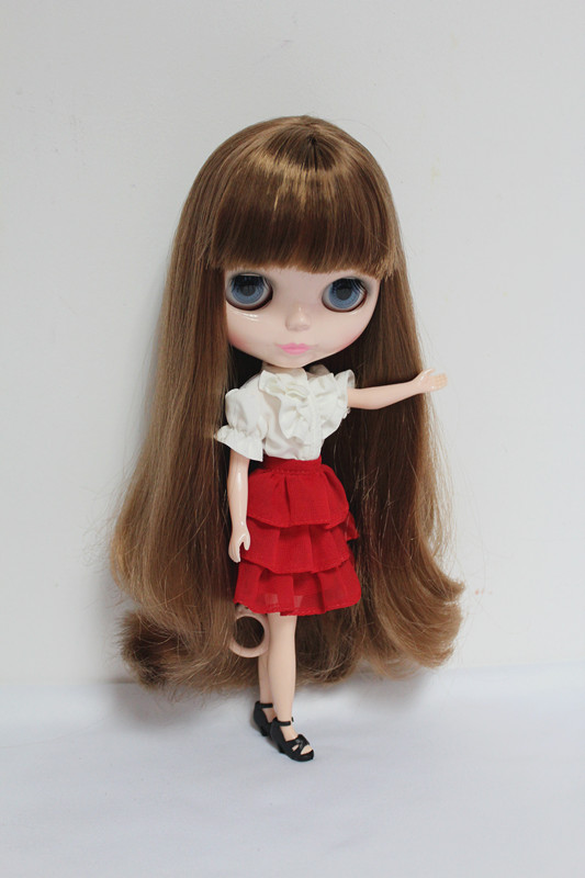 цены Free Shipping Top discount 4 COLORS BIG EYES DIY Nude Blyth Doll item NO. 32 Doll limited gift special price cheap offer toy