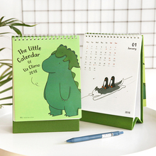 2018 You look good today calendar cute fresh cure Illustrated with the lunar holiday stupid lovely desk calendar