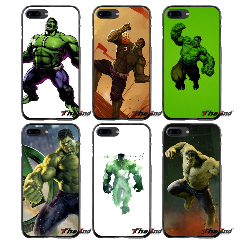 For Apple iPhone 4 4S 5 5S 5C SE 6 6S 7 8 Plus X iPod Touch 4 5 6 Hulk Accessories Phone Cases Covers