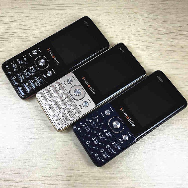 """Giải tỏa bán 2.4 """"Màn hình Nga Bàn phím GSM điện thoại bấm điện thoại di động điện thoại giá rẻ Điện Thoại di động ban đầu H -di động S8820"""