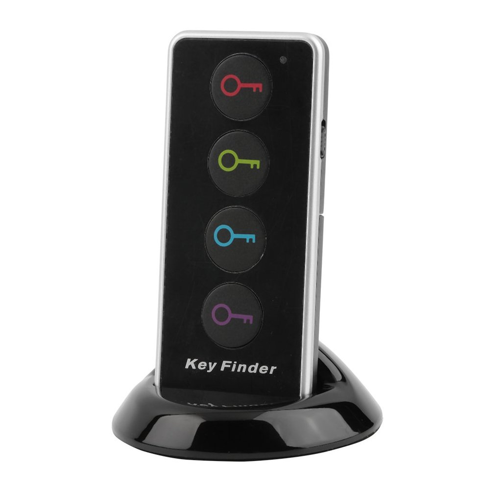 10PCS Remote Wireless LED Key Wallet Finder Receiver Lost Thing Alarm Locator