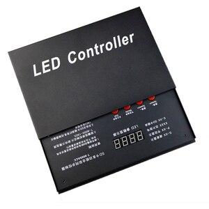 Image 4 - 8192 Pixels T8000 T 8000A AC 220 V/110VSD Kaart Pixel voor WS2801 WS2812B WS2811 LPD8806 RGB LED Strip Controller DC5V