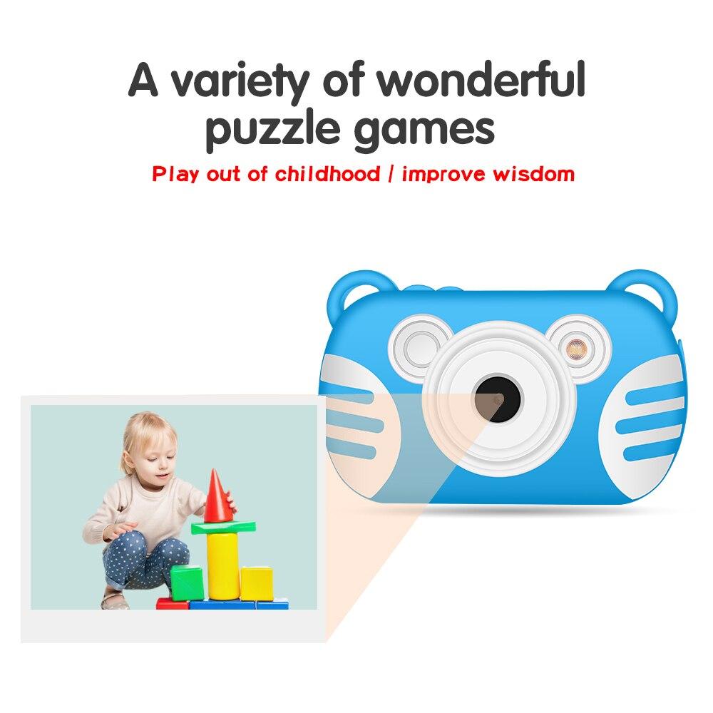Appareil photo numérique enfant K6 Mini caméras pour enfants appareil photo sous-marin Portable étanche professionnel - 5