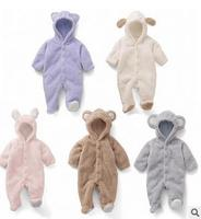 Baby Coverall Animal Style Thick Warm Fall And Winter Clothes Newborn Baby Outside In Winter Climbing