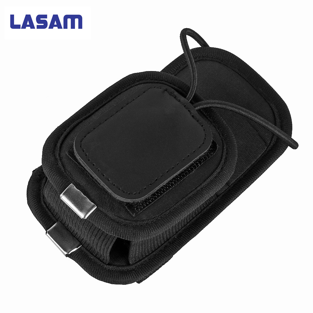 LASAM Universal Nylon PT-01 holster carry bag case cover for UV-5R GP328 GP338 Radio walkie talkie