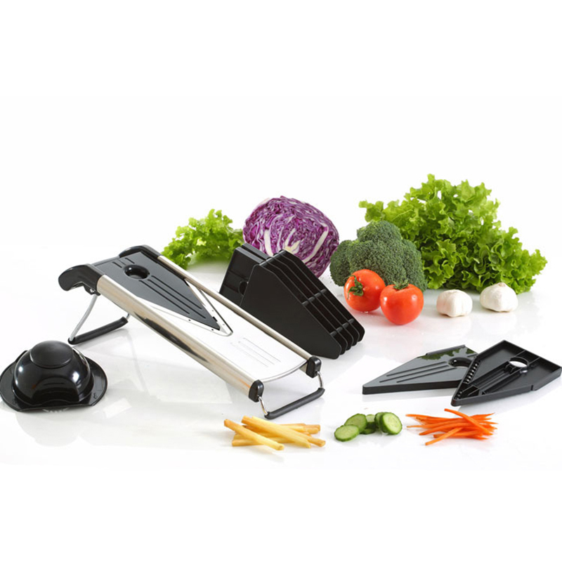 Creative tools Manual Mandoline Slicer With 5 Stainless Steel Blades Potato Carrot Onion Cutter Vegetable Grater Kitchen Tool