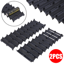 цены на 2pcs/set Professional 10x Cell Spacer 18650 Battery Cell Spacer Radiating Shell Pack Plastic Heat Holder Black New  в интернет-магазинах